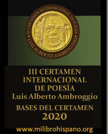 3Banner cuadrado Concurso de Poesía Luis Alberto Ambroggio 2020
