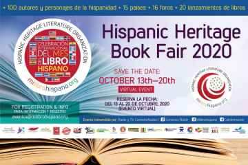 Hispanic Heritage Book Fair Milibrohispano 2020