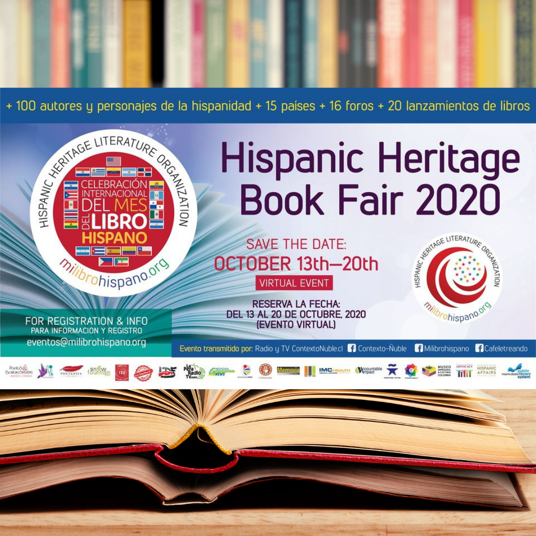 Hispanic Heritage Book Fair Milibrohispano 2020