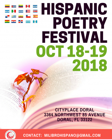 1st. HISPANIC HERITAGE FESTIVAL FOR THE ARTS & LITERATURE 2018 (6)