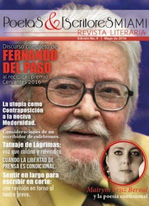 Portada Mayo 2016 Poetas y Escritores Miami