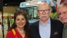 filcol domingo Pilar Velez y el Embajador de Colombia